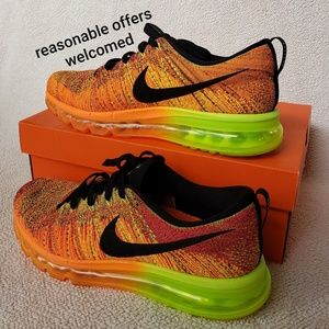 Nike Flyknit Max Mens Shoes Size 9.5